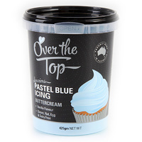 Buttercream Pastel Blue 425g Over The Top