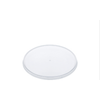 LIDS Round Tamper Evident Container Lids to suit 300 ml-1120 ml Containers (118 mm diameter) 50/Sleeve