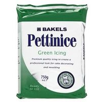 Icing Pettinice- Green-750g *Best Before 1 June 2021*